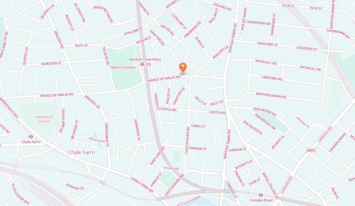 map the grafton