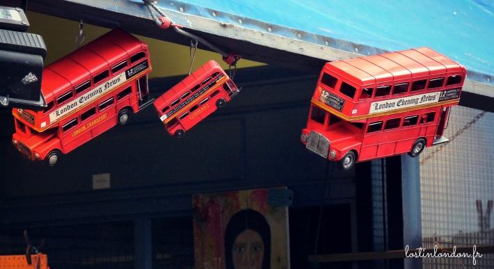 bus rouge de londres double-decker